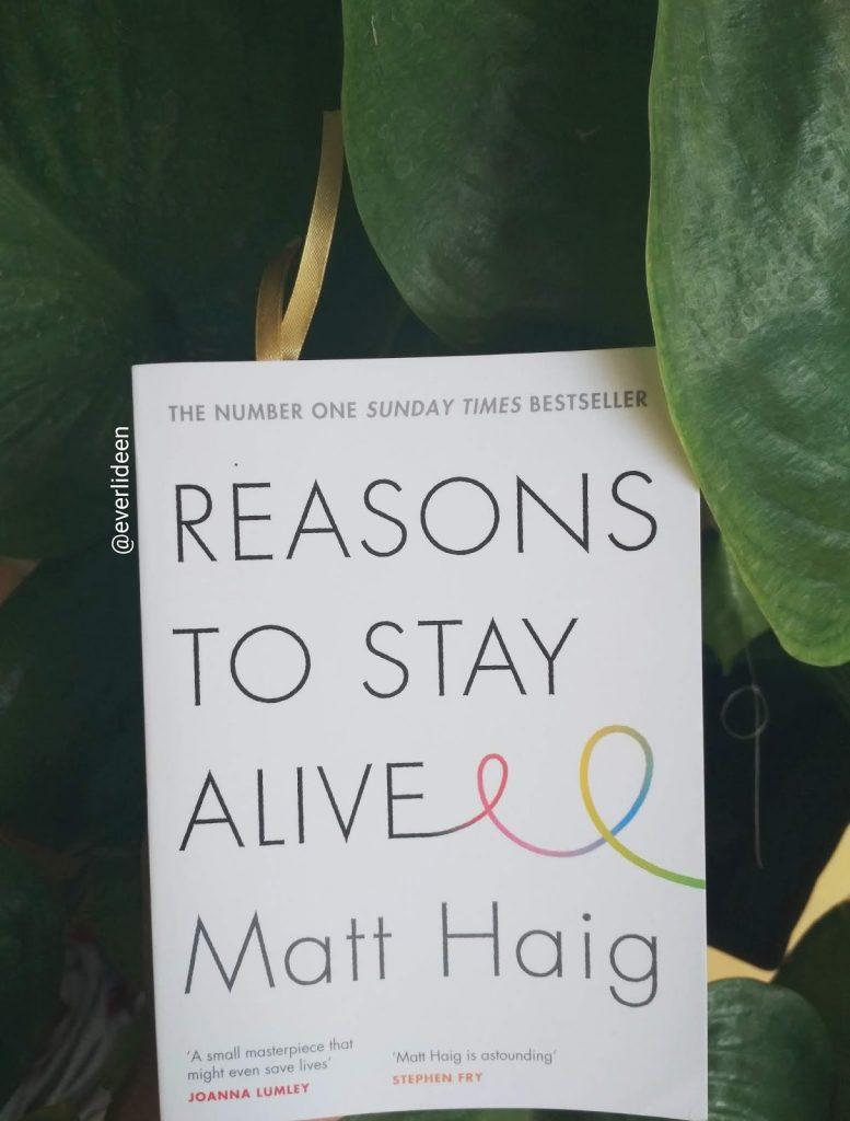 Reasons to Stay Alive matt haig lessons