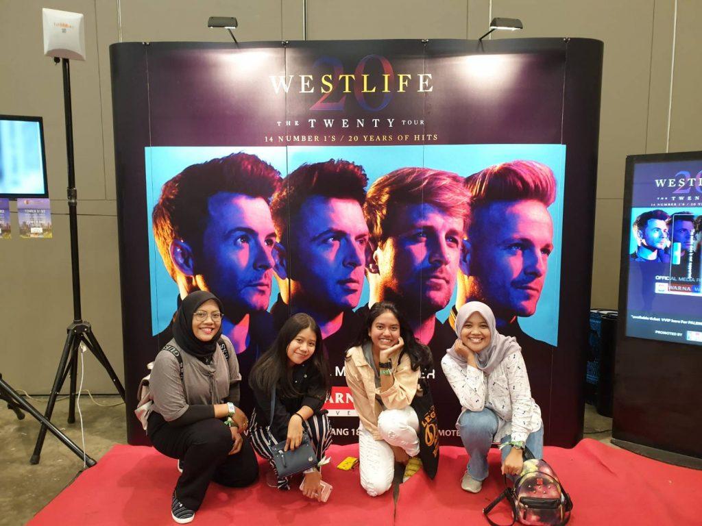 westlife the twenty tour jakarta 2019 fans