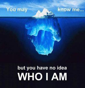 iceberg_you have no idea who i am