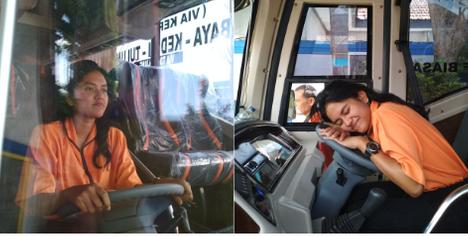 rute baru bis bagong everlideen blogger malang event