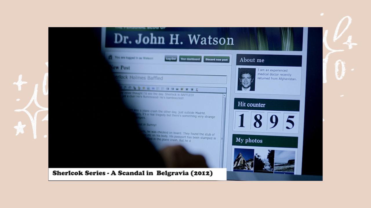 A Scandal in Belgravia, journaling dalam film Sherlock Holmes