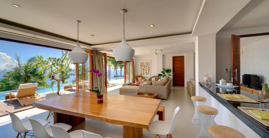 Malimbu Cliff Villa villa mewah indonesia