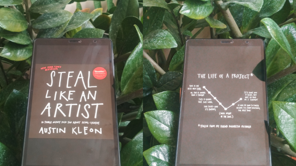 Steal like an artist austin kleon everlideen
