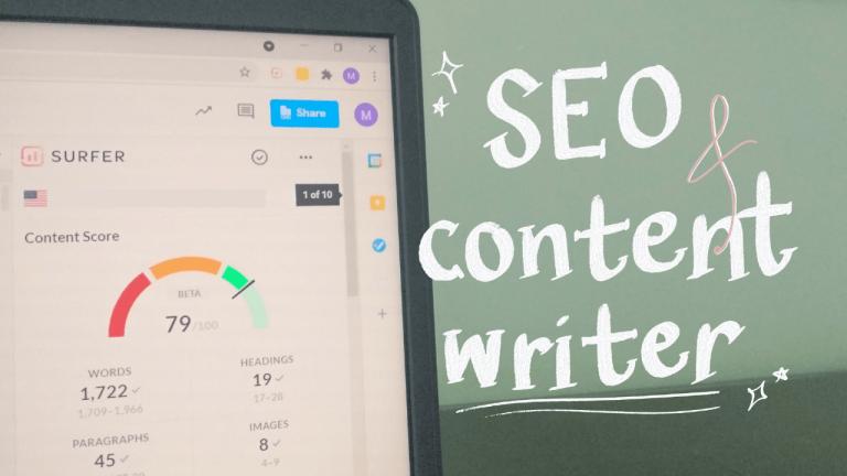 seo dan content writer