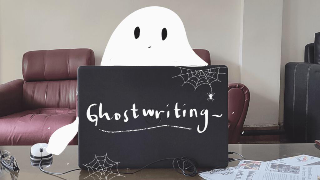 pekerjaan ghostwriter atau penulis bayangan