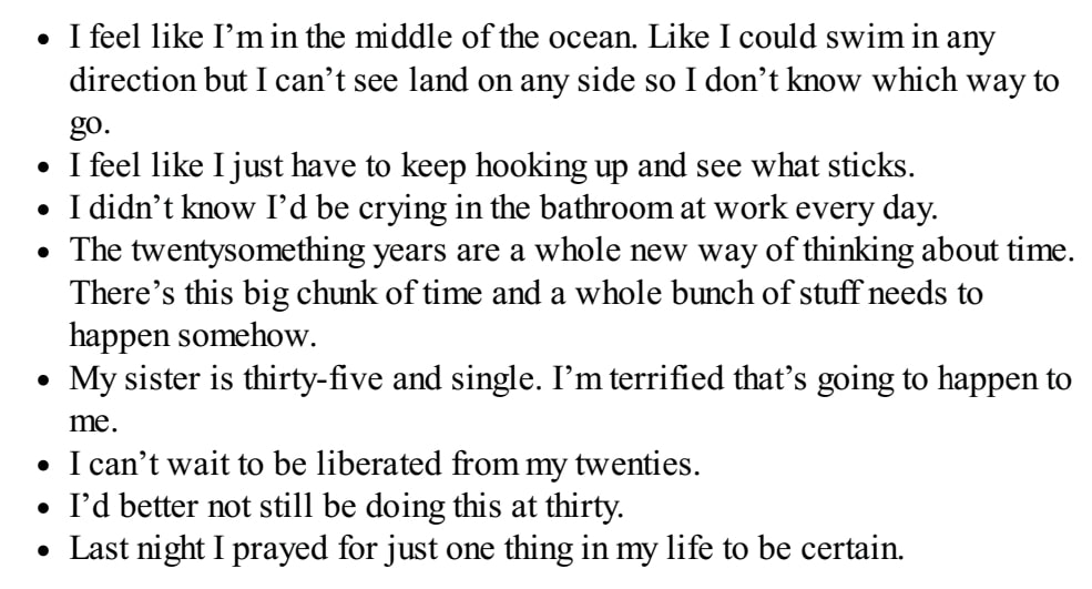 meg jay buku the defining decade quarter life crisis