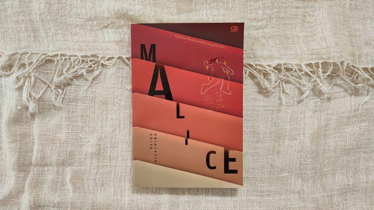cover novel malice oleh keigo higashino