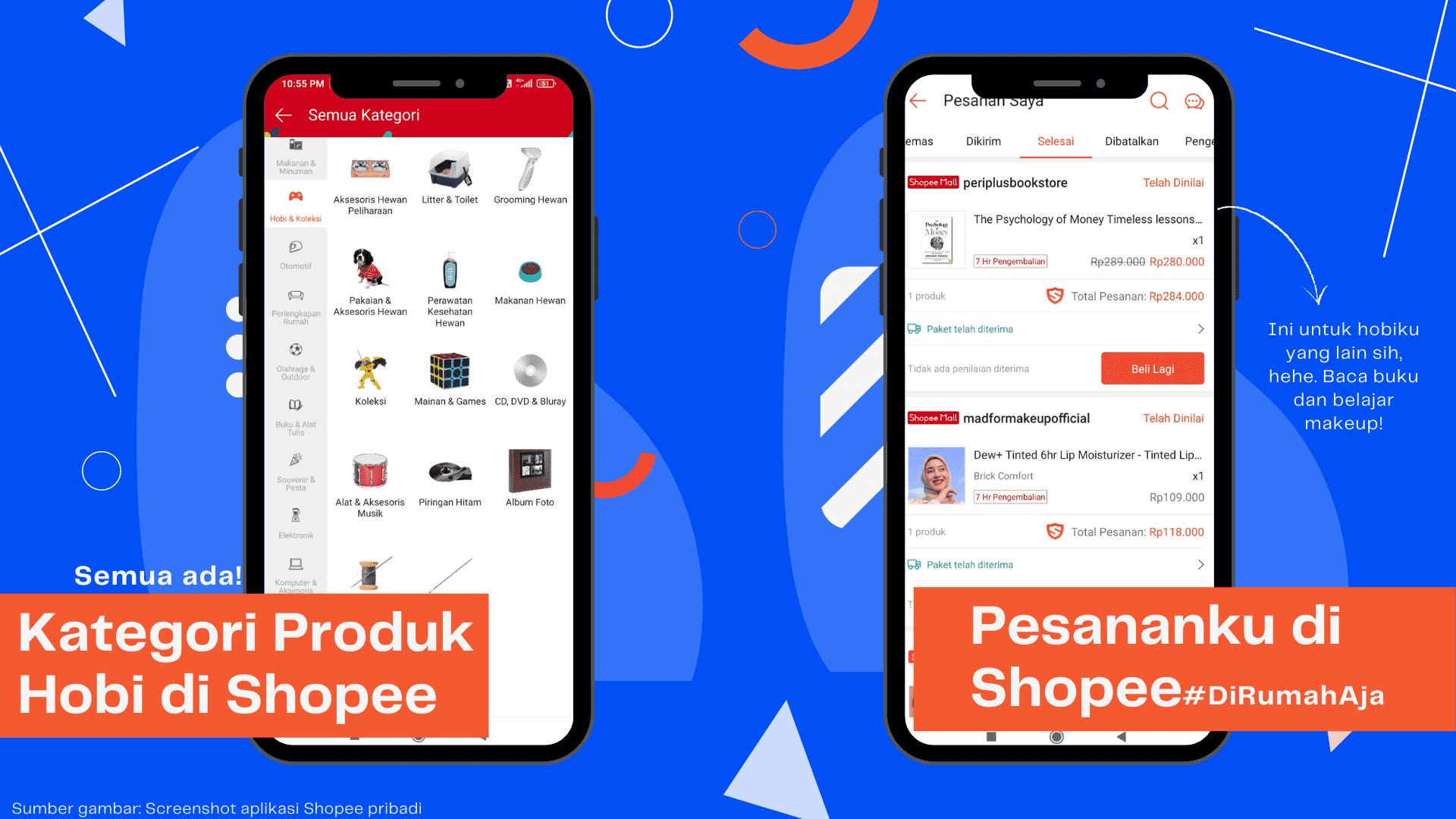 kategori produk di shopee