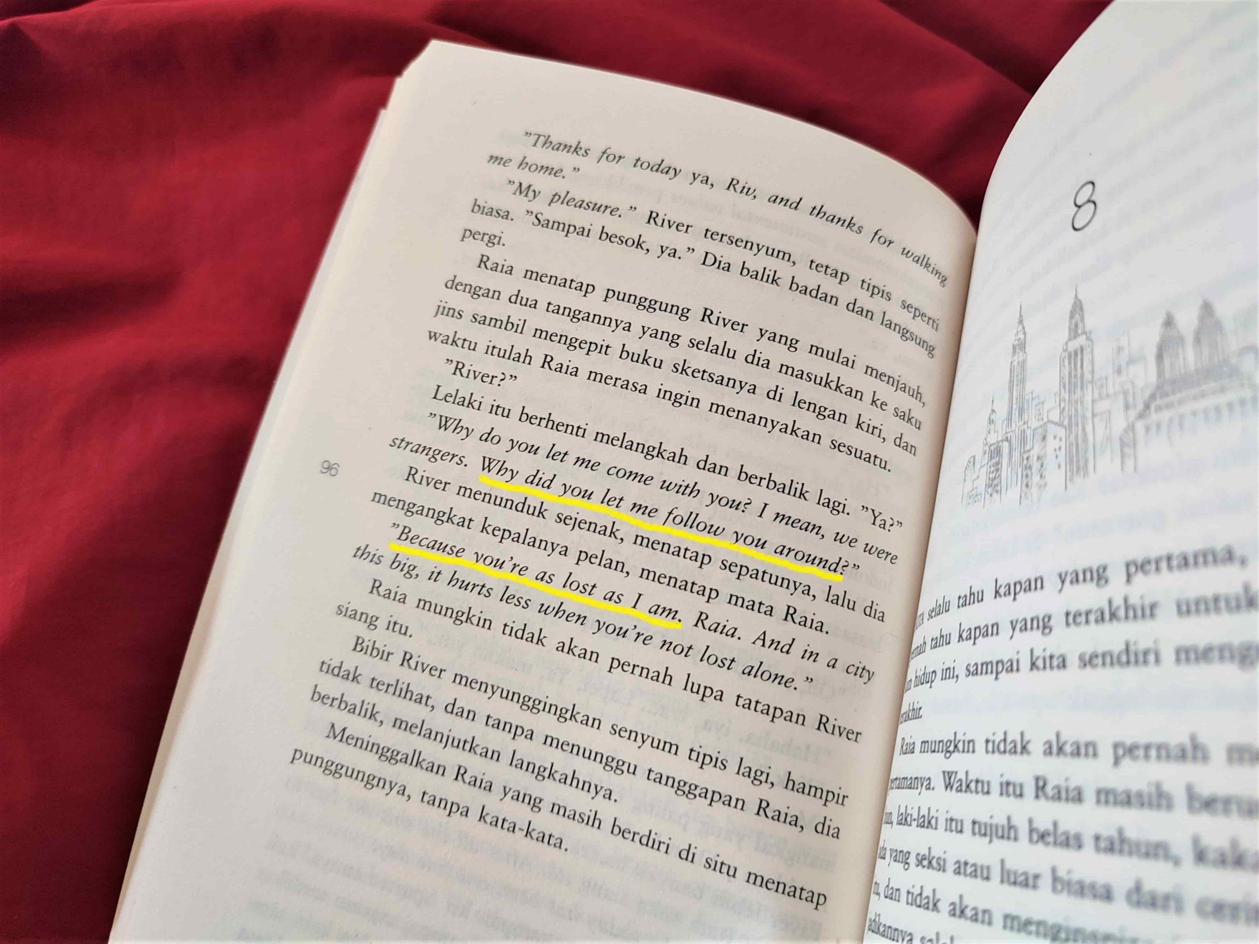 quote novel the architecture of love ika natassa